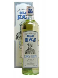 Cadenhead's Old Raj Dry Gin 750ml