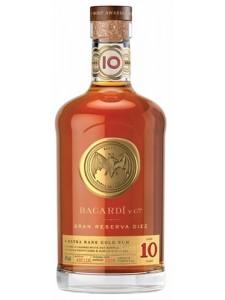 Bacardi Gran Reserva Diez 10 Year Old Rum 750ml