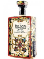 Dos Artes Extra Anejo Tequila 1 Ltr Handmade Bottle