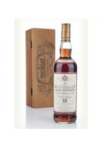 The Macallan 18 YEARS OLD Gran Reserva Single Highland Malt Scotch Whisky Distilled in 1979 Bottled in 1997 750ml