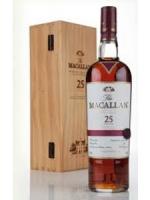 The Macallan 25 Years Single Malt Scotch Whiskey 750ml