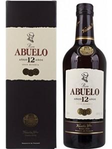 Ron Abuelo Anejo 12 Anos Gran Reserva Rum 750ml