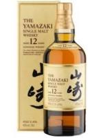 The Yamazaki 12 Japanese Whisky 750ml