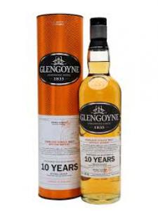 Glengoyne Aged 10 years Single Malt Scotch 750ml