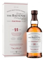 THE BALVENIE 21 YEARS PORTWOOD SINGLE MALT SCOTCH WHISKY
