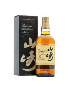 Suntory Whisky The Yamazaki Single Malt Japanese Whisky Aged 12 Years 750ml