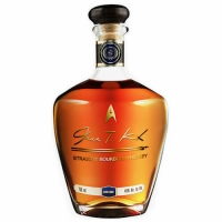 James T. Kirk Straight Bourbon Whiskey 750ml SHIPPING BY November 30, 2018