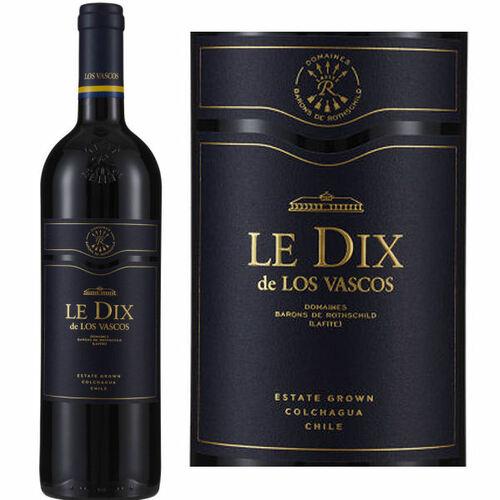 Le Dix by Los Vascos Estate Colchagua Cabernet 2015 (Chile) Rated 93JS