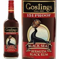 Gosling's Black Seal Bermuda Black Rum 151 Proof 750ml