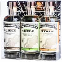 St George Vodka Combo Pack 3-200ml Bottles