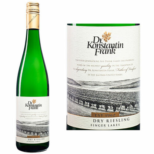 Dr. Konstantin Frank Finger Lakes Dry Riesling New York 2019 Rated 90WA
