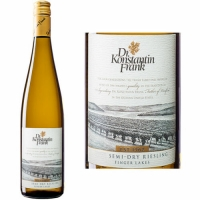 Dr. Konstantin Frank Finger Lakes Semi-Dry Riesling New York 2016 Rated 90WA