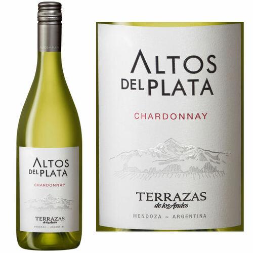 12 Bottle Case Terrazas de los Andes Altos Del Plata Chardonnay 2018