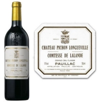 Chateau Pichon-Longueville Comtesse de Lalande Pauillac 1990 Rated 94WS