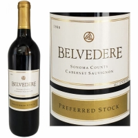 Belvedere Preferred Stock Sonoma Cabernet 1988