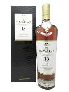 2021 The Macallan 18 Year Old Sherry Oak Single Malt Scotch 750ml