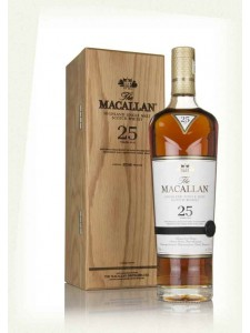 The Macallan 25 Years Old Highland Single Malt Scotch Whisky Annual Release for 2018 750ml