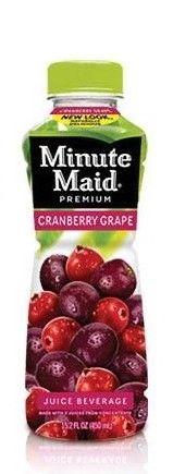 Minute Maid Cranberry Grape Juice 355ml