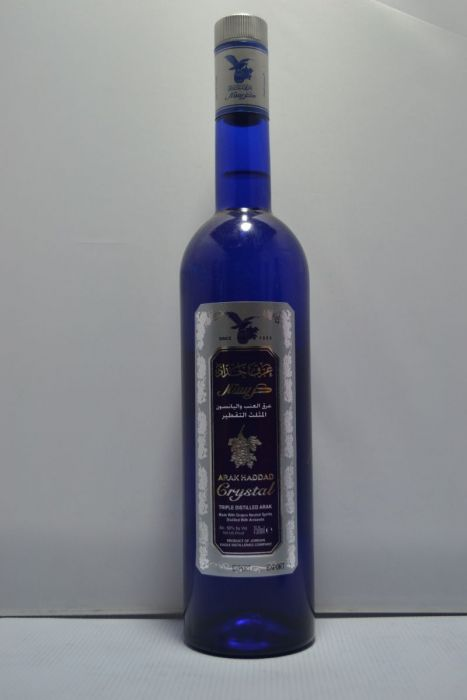 Arak Haddad Crystal Triple Distilled Jordan 100pf 750ml