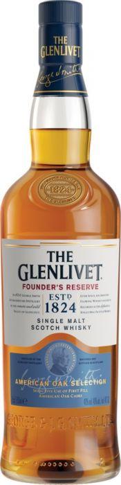 Glenlivet Scotch Single Malt Founders Reserve Speyside 750ml
