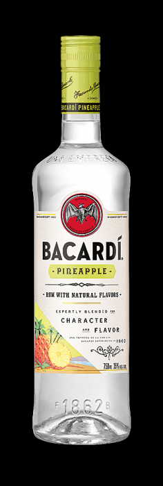Bacardi Rum Pineapple Fusion 750ml