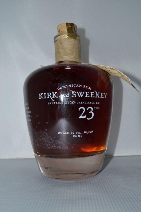 Kirk And Sweeney Rum Dominican 23yr 750ml