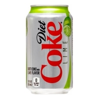 Diet Coke Lime 12oz Can