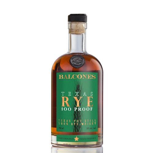 Balcones Whiskey Rye Texas 100pf 750ml