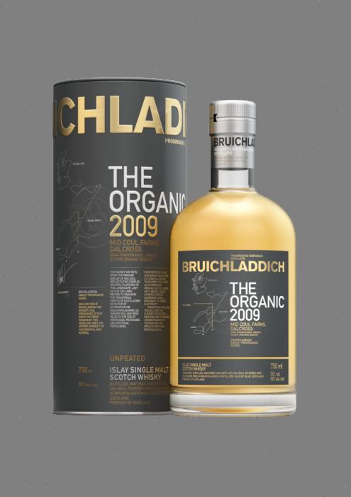 Bruichladdich Scotch Single Malt The Organic 2010 Islay 100pf 750ml