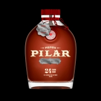 Papas Pilar Rum Dark Finished In Spanish Sherry Cask 86pf24yr 750ml