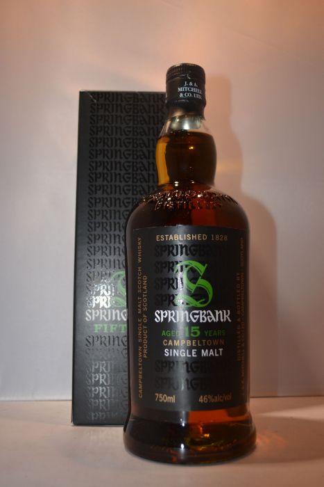 Springbank Scotch Single Malt 92pf 15yr 750ml