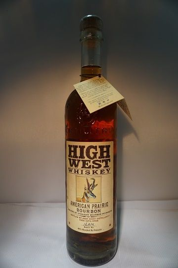 High West Whiskey Bourbon American Prairie Utah 92pf 750ml