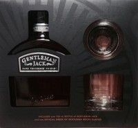 Gentleman Jack Whiskey Double Mellowed Tennessee Gft Pk 750ml