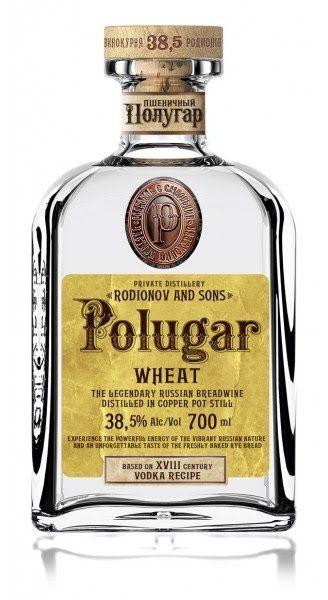 Polugar Vodka Wheat Poland 750ml