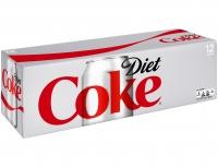 Coke Diet 12x12oz Can