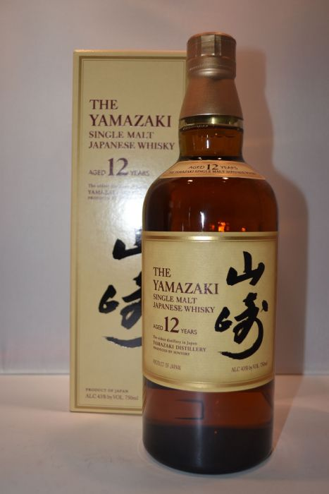 The Yamazaki Whisky Single Malt Japanese 86pf 12yr 750ml