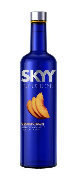Skyy Vodka Infusion Georgia Peach American 750ml
