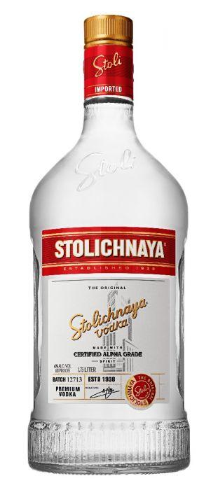 Stolichnaya Vodka Premium 1.75 Li