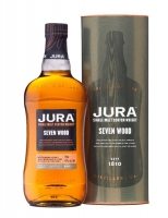 Jura Scotch Single Malt Seven Wood 84pf 750ml