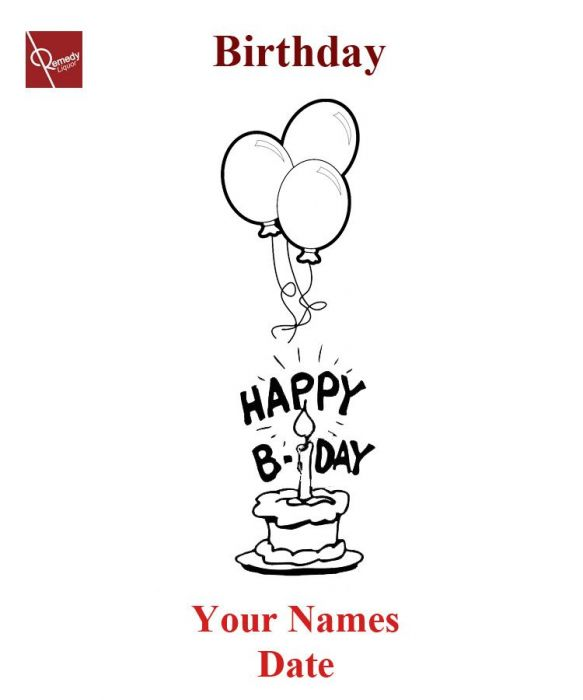 Engraving Happy Birthday #3