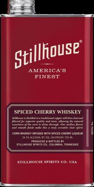 Stillhouse Moonshine Whiskey Spiced Cherry American Finest 750ml