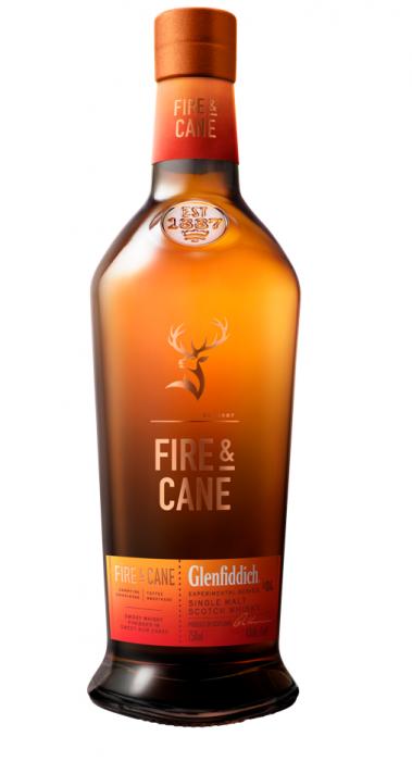 Glenfiddich Scotch Single Malt Fire & Cane 86pf 750ml