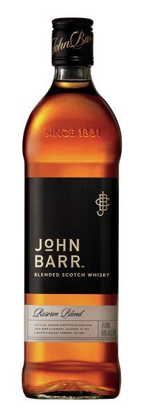John Barr Black Blended Scotch Whisky 750ml
