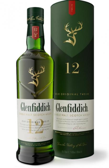 Glenfiddich Scotch Single Malt 12yr 750ml