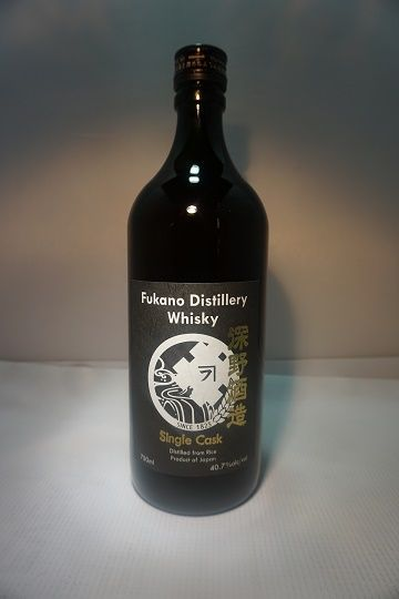 Fukano Distillery Whiskey Single Cask Japan Cask Strength 750ml