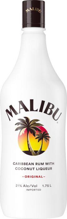 Malibu Rum Coconut Liqueur Caribbean 1.75li