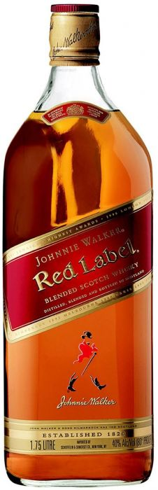 Johnnie Walker Scotch Blended Red Label 1.75li