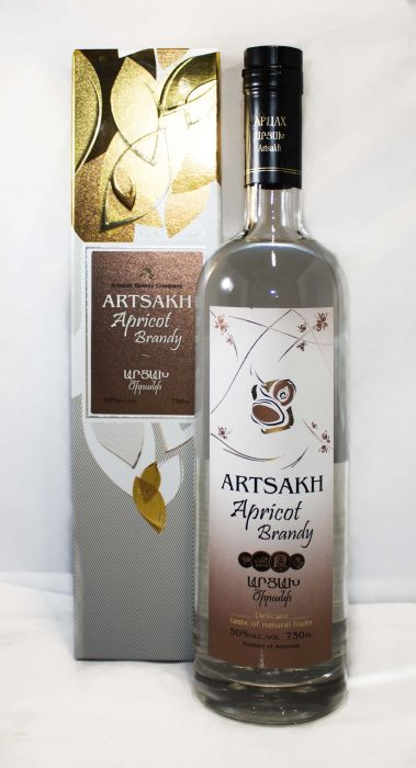 Artsakh Vodka Apricot Armenia 100pf 750ml