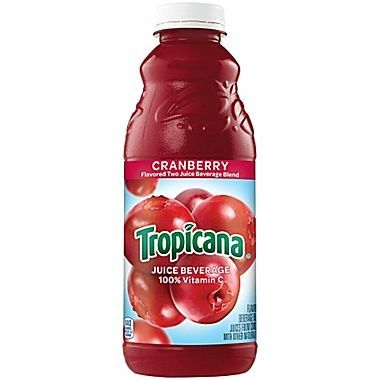 Tropicana Cranberry Juice 32 Oz Bot