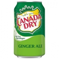 Canada Dry Ginger Ale 12oz Can